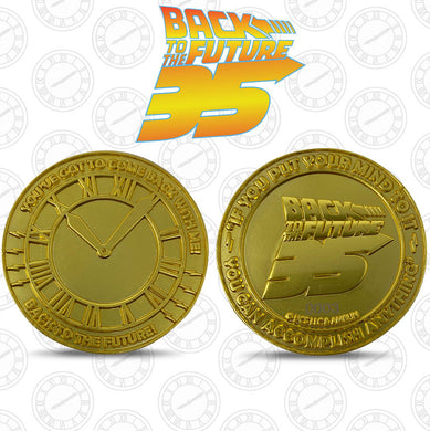 Back To The Future Limited Edition Collector Medal