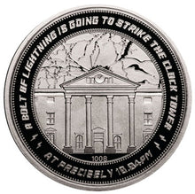 Back to the Future Clocktower Collector Medal