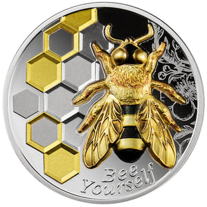 2021 Cameroon 1000CFA Always Bee Yourself 1oz Silver Coin