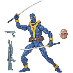 Marvel Deadpool Legends 6 inch Wave 3 - Blue Deadpool Action Figure