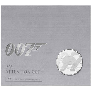 2020 UK £5 James Bond #2 BU Coin