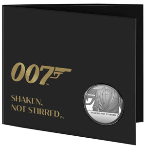 2020 UK £5 James Bond #3 BU Coin