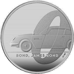 2020 UK £2 James Bond 1oz Silver Proof