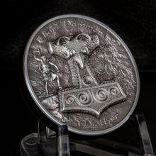 2017 Cook Isl. $10 Hammer of Thor - Mjolnir Silver Coin
