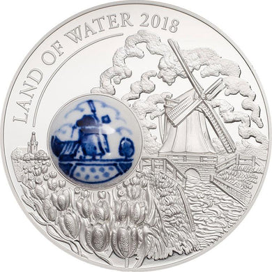 2018 Cook Isl $10 Land of Water 50g Silver Coin