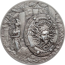 2018 Cook Isl. $10 Shield of Athena - Aegis Silver Coin