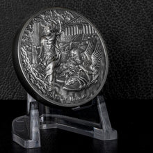 2019 Cook Isl $10 Sandals of Hermes - Talaria 2oz Silver Coin