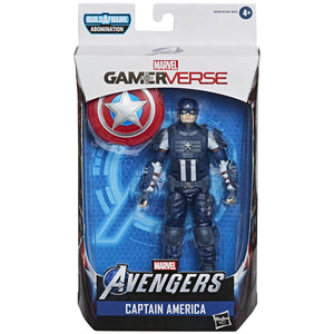 Avengers Video Game Marvel Legends - Captain America Action Figure