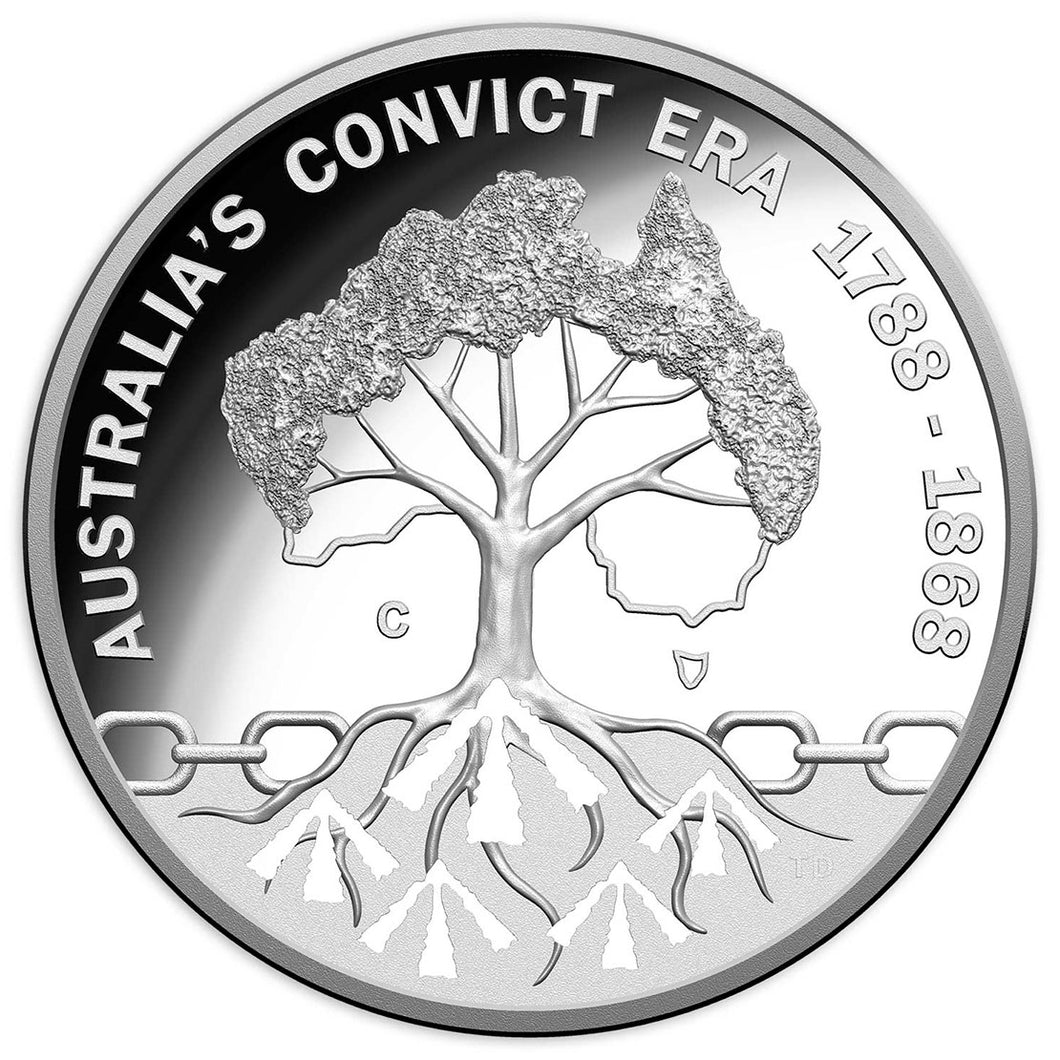 2018 $1 Convict Era Silver Proof Coin