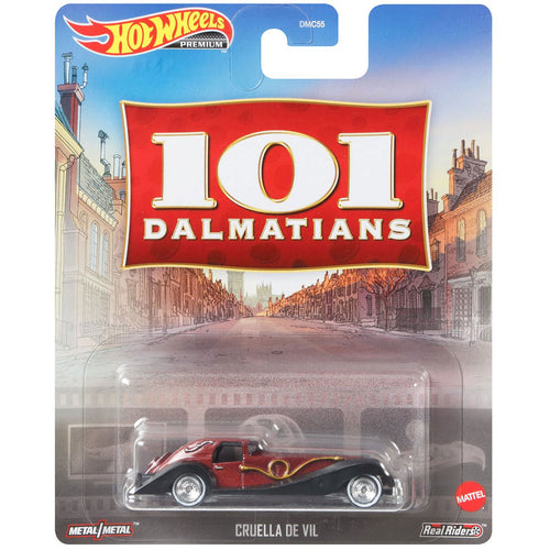 Hot Wheels Cruella De Vil Die Cast Car