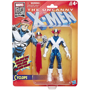 Marvel Legends X-Men Retro Cyclops 6-Inch Action Figure