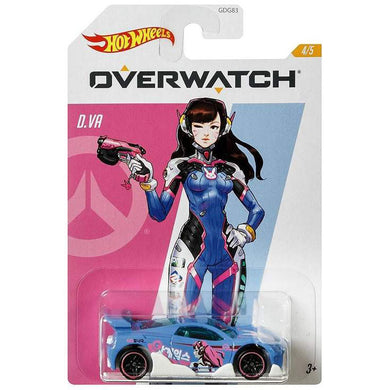Hot Wheels Overwatch - D.Va  Die Cast Collectable Car