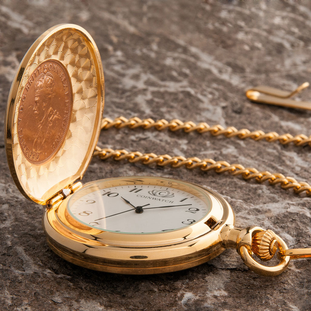 Centenary of WWI 1918 Penny Pocketwatch
