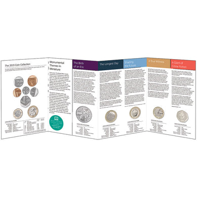 2019 UK Annual Coin Set