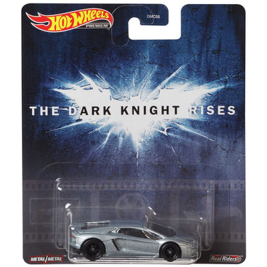 Hot Wheels Retro - The Dark Knight Lamborghini Aventador Die Cast Collectable Car