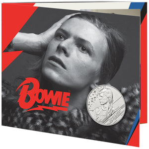 2020 UK £5 Music Legends - David Bowie BU