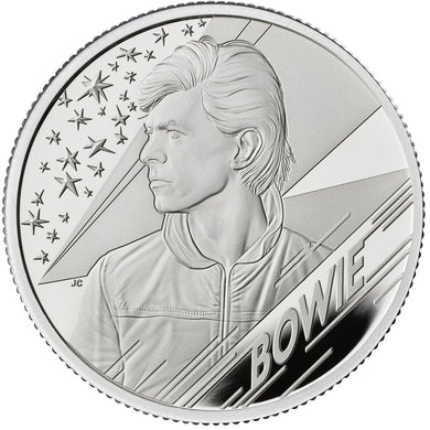 2020 UK £1 Music Legends - David Bowie 1/2oz Silver Proof
