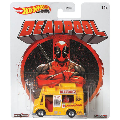 Hot Wheels Retro - Deadpool Chimichanga Truck Die Cast Collectable Car