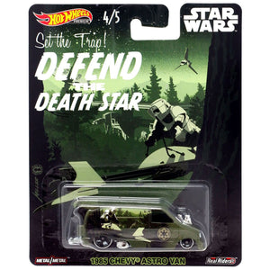 Hot Wheels Star Wars Endor Astro Van Die Cast Collectable Car