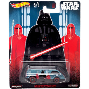 Hot Wheels Star Wars Darth Vader Dream Van XGW Die Cast Collectable Car
