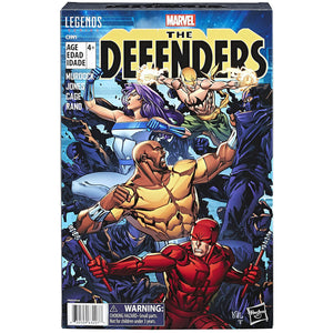 Marvel Legends Series: The Defenders Figure 4-pack