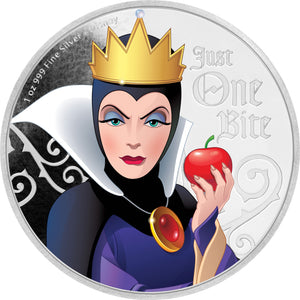 2018 Niue $2 Disney Villains - Evil Queen 1oz Silver Proof