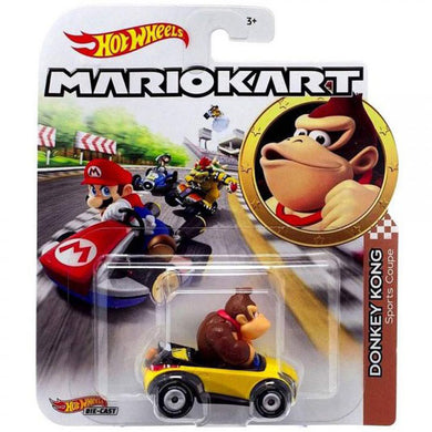 Hot Wheels Mario Kart - Donkey Kong Die Cast Collectable Car