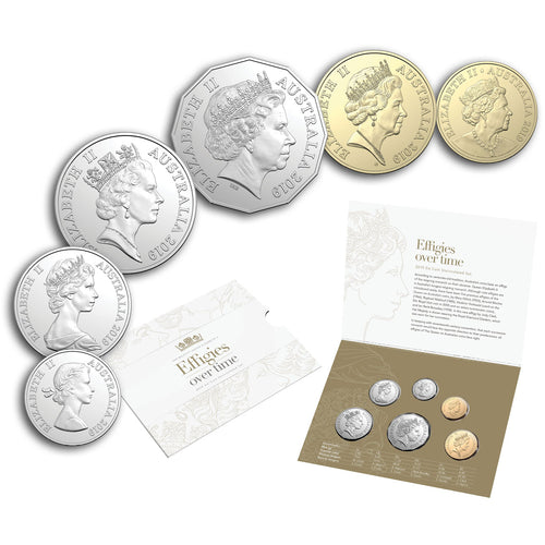 2019 Effigies Over Time 6-coin Uncirculated Set