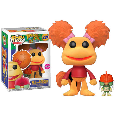 Fraggle Rock - Red w/Doozer Flocked Pop!