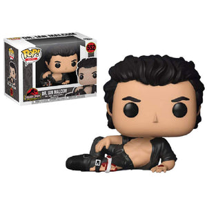 Jurassic Park - Dr Ian Malcolm Shirtless Pop!