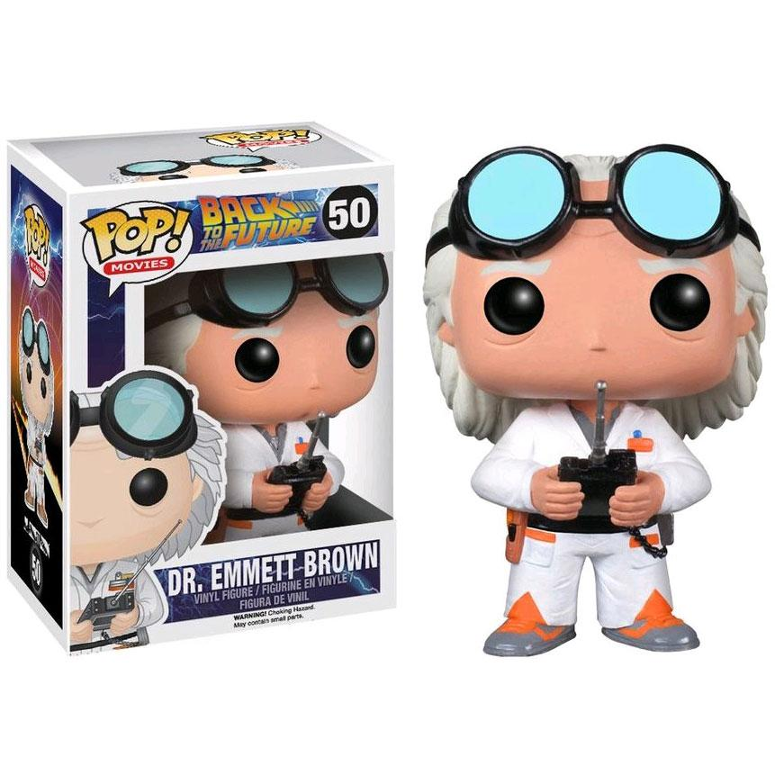 Back to the Future - Dr. Emmett Brown Pop!