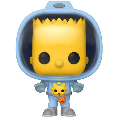 Simpsons - Bart w/Chestburster Maggie Pop!