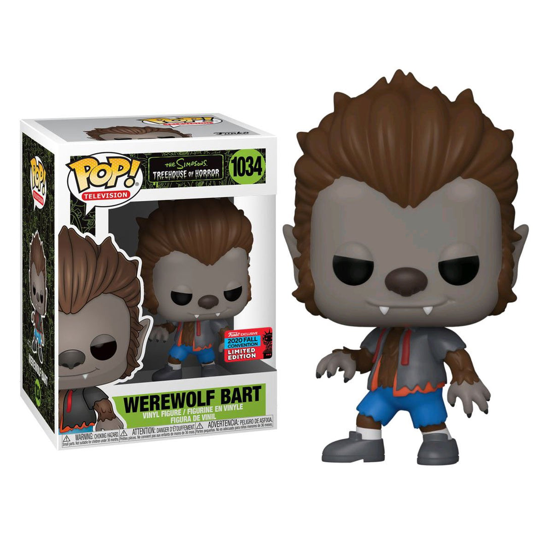 Simpsons - Bart Werewolf Pop! NY20 RS