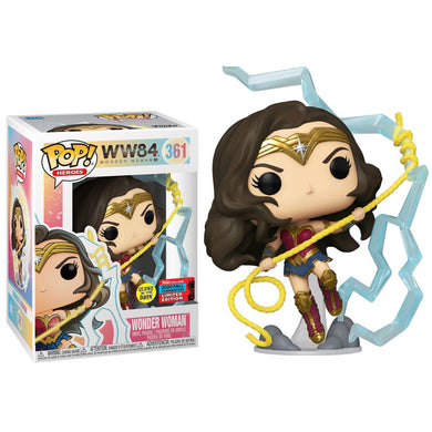 Wonder Woman 2 - WWoman Lightning GW Pop! NY20 RS