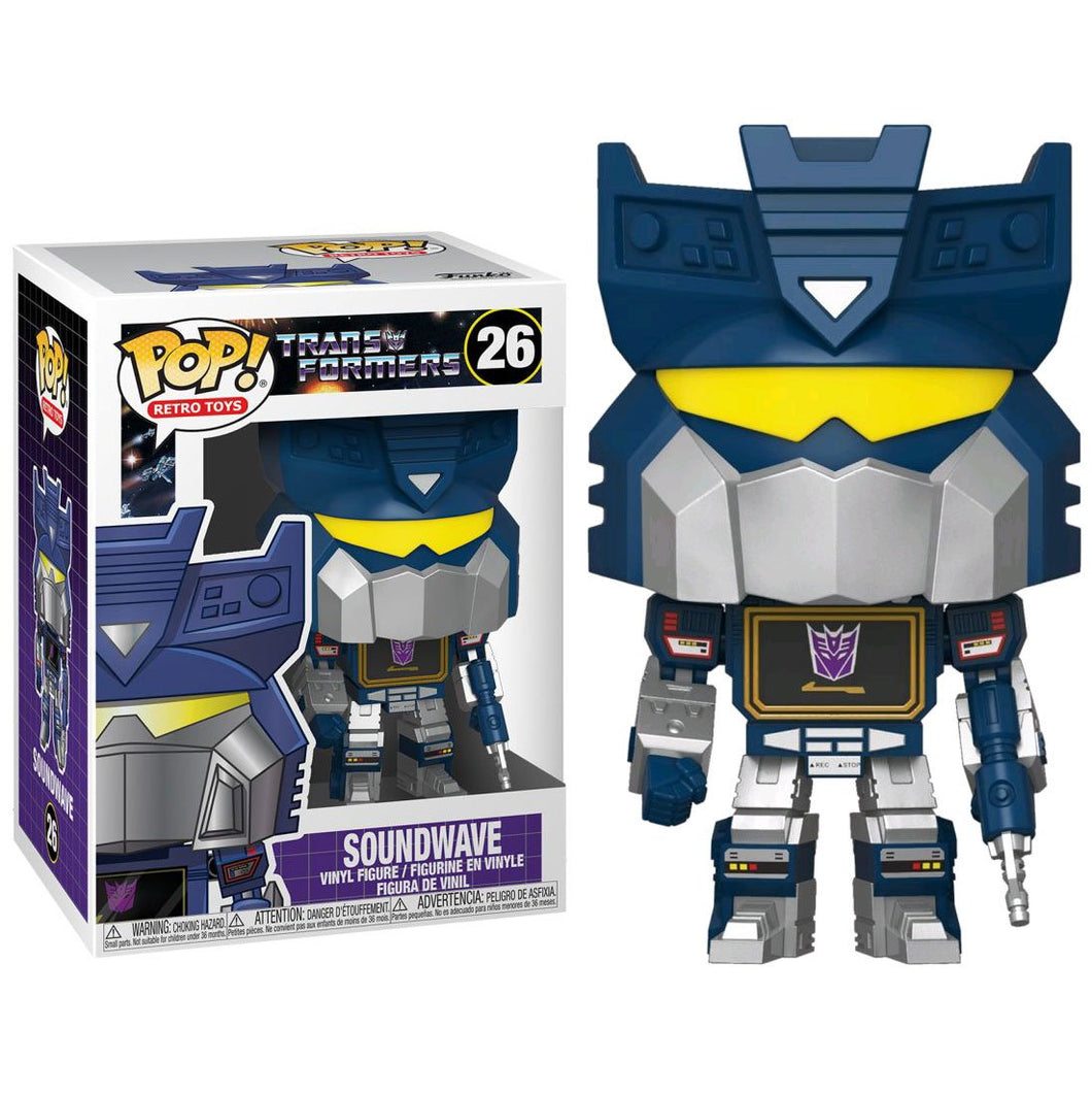 Transformers - Soundwave Pop!