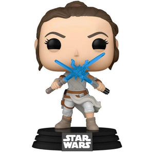 Star Wars - Rey w/2 Lightsabers Pop!