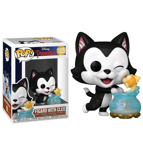 Pinocchio - Figaro Kissing Cleo 80th ANNIV Pop!