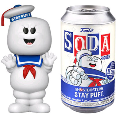Ghostbusters - Stay Puft Vinyl Soda