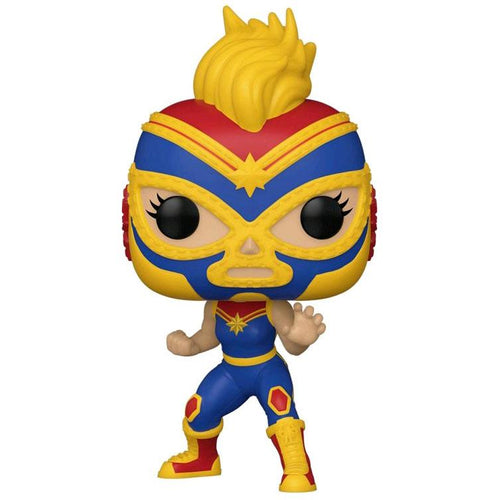 Captain Marvel - Luchadore Captain Marvel Pop!