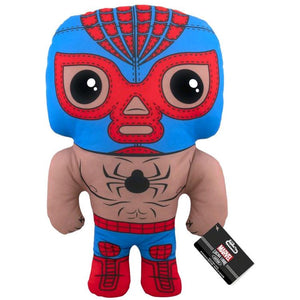 "SpiderMan - Luchadore SpiderMan 17"" Plush"
