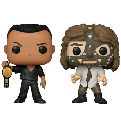 WWE - The Rock vs Mankind Pop! 2pk RS