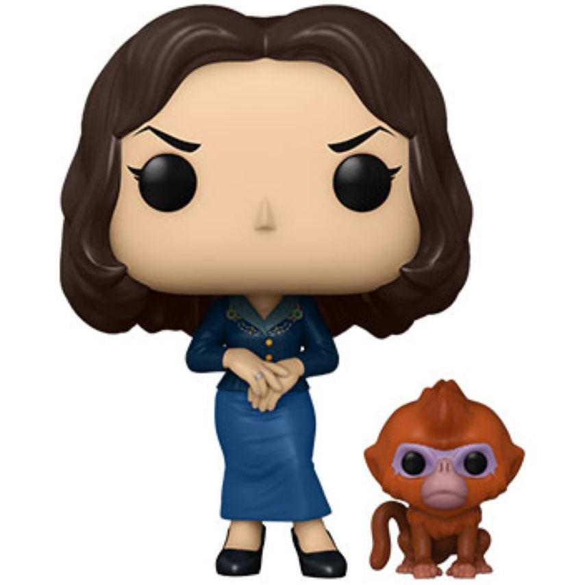 His Dark Materials - Mrs Coulter w/Daemon Pop!