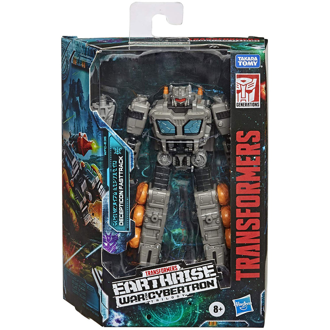 Transformers War For Cybertron Earthrise Deluxe Fasttrack 6-Inch Action Figure