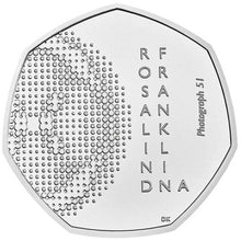 2020 UK 50p Rosalind Franklin BU
