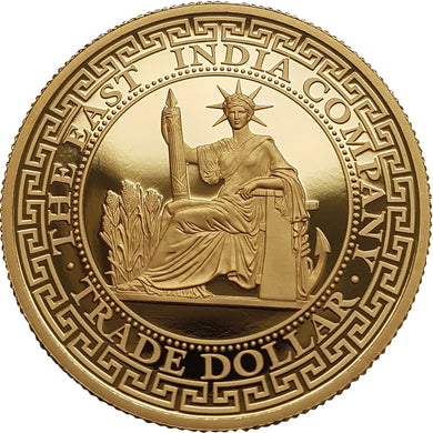 2020 Niue $250 French Trade Dollar 1oz gold proof coin