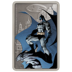 2020 Niue $2 Caped Crusader - Gotham City 1oz Silver Proof