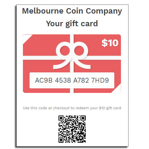 Gift Card ($10 - $100)