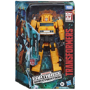 Transformers War for Cybertron Earthrise - Grapple 7 inch Action Figure