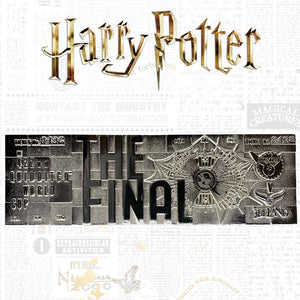 Harry Potter Quidditch Silver-plated Ticket