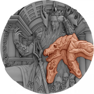2018 $5 Gods Of Olympus - Hades 2oz Ultra High Relief Coin